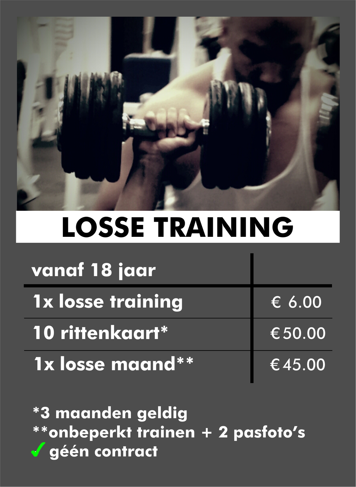 Losse Training